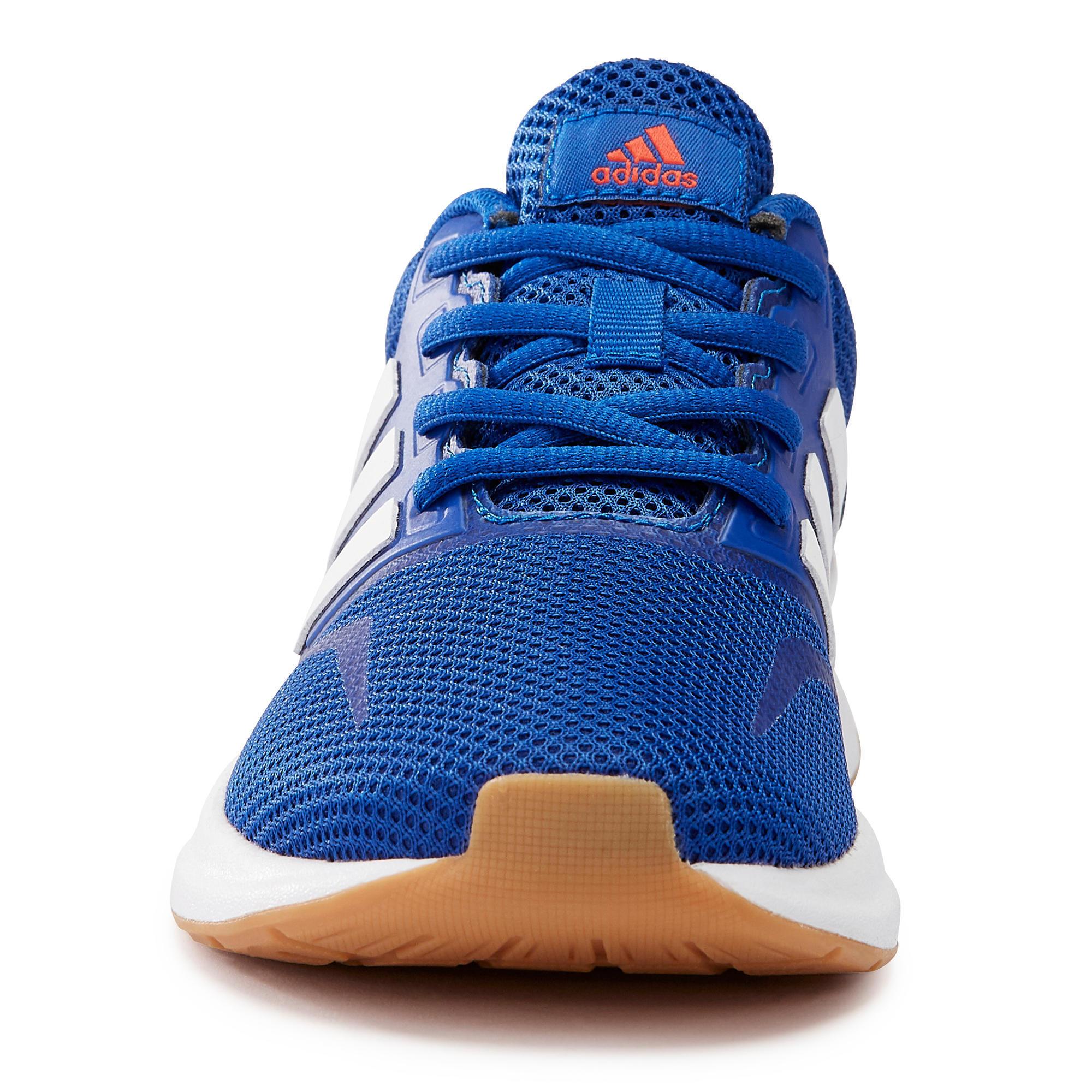 adidas falcon bleu