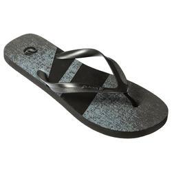 Chinelos de Surf Homem 120 Denim Preto