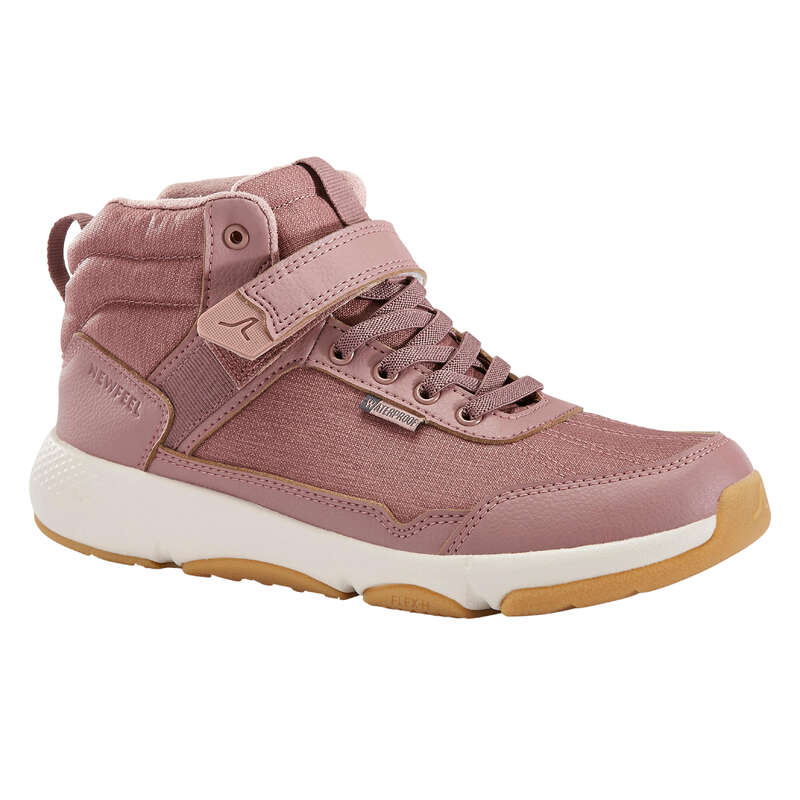 WALKINGSKO JUNIOR Typ av sko - Walkingsko Resist rosa NEWFEEL - Sneakers
