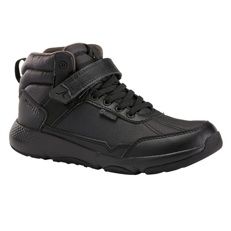 Chaussures marche enfant imperméable Resist noir