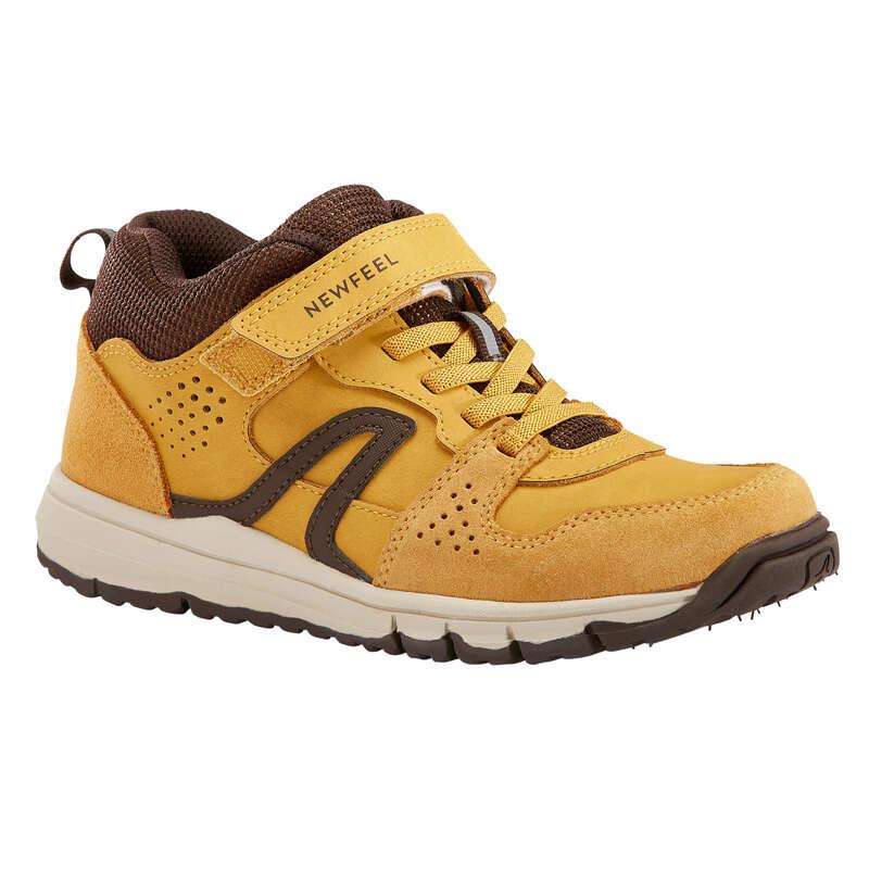 WALKINGSKO JUNIOR Typ av sko - Protect 560 läder grå NEWFEEL - Sneakers