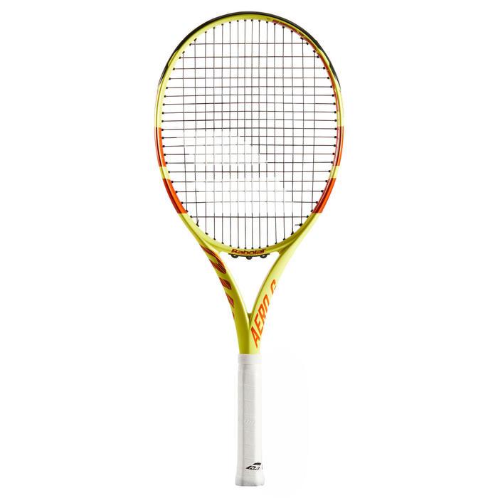 Raquette de tennis adulte Pure Aero Team Jaune Rouge