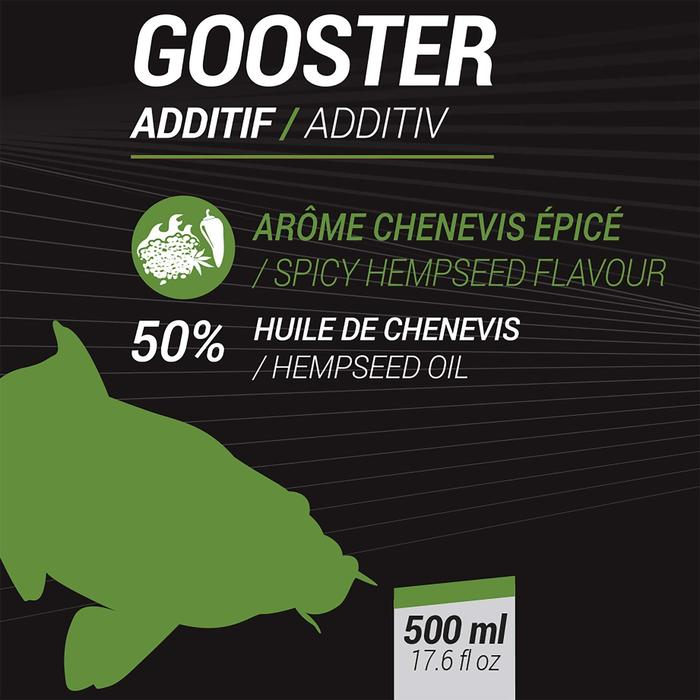 ADDITIF LIQUIDE PECHE AU COUP GOOSTER ADDITIV CHENEVIS EPICE 500ML