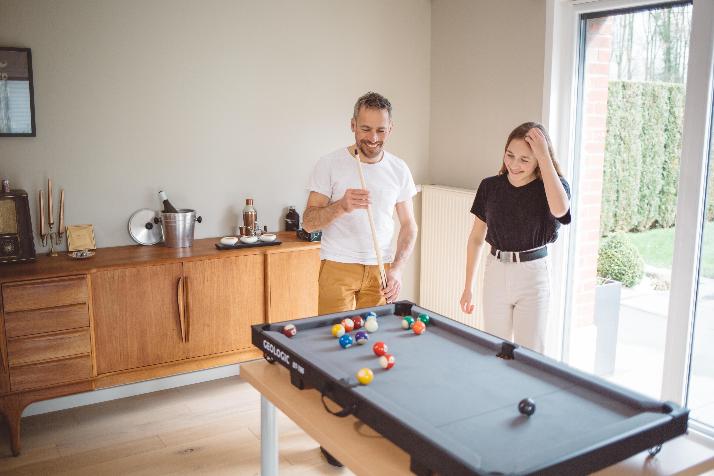 strapazierf/ähiges Holz f/ür Bar Home Fabater Klassischer Sport Billard Ball Frame Snooker Ball Rack