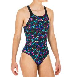 Sportbadpak voor zwemmen meisjes chloorbestendig Kamyleon Star
