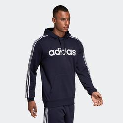 Camisola de Ginástica com Capuz Adidas Homem Azul-Marinho