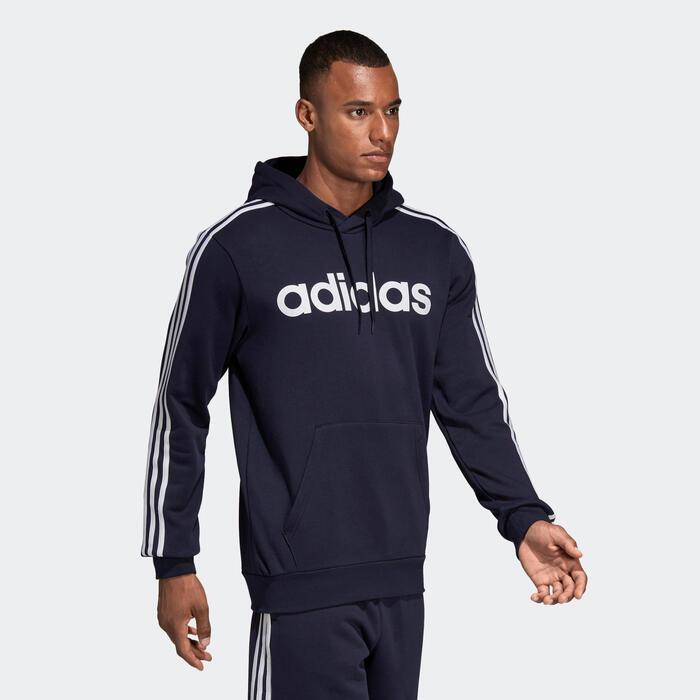 excepto por sin embargo Valle  Sudadera con capucha Adidas hombre azul marino Adidas   Decathlon