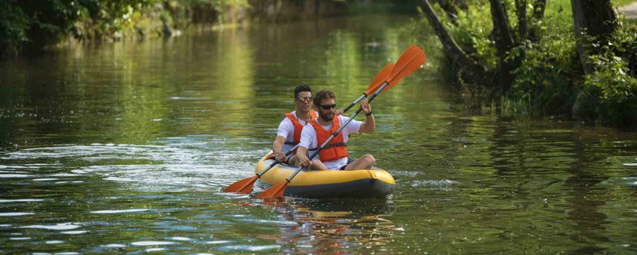 paddling in france