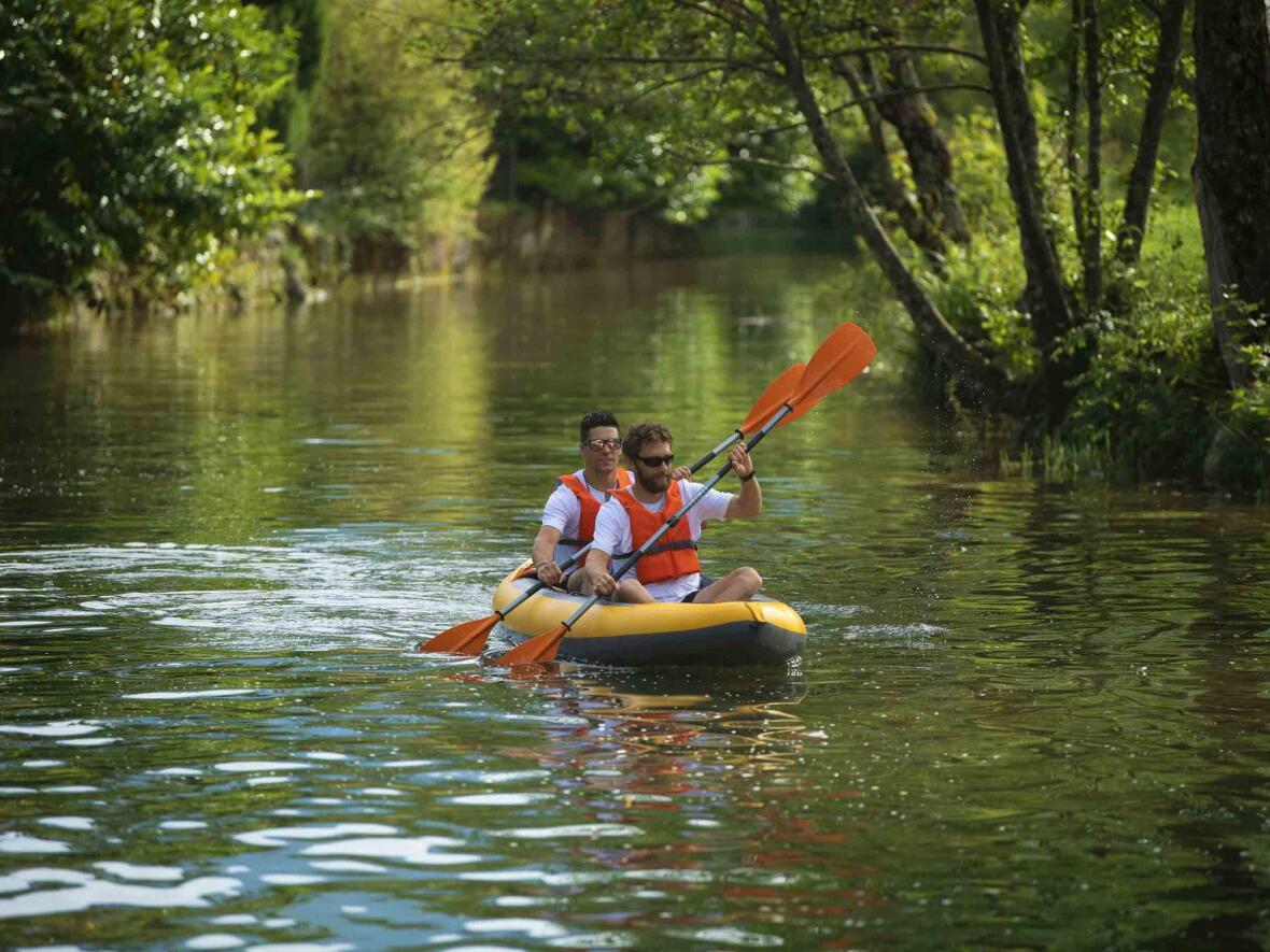 strong inflatable kayak