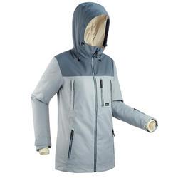 Giacca sci e snowboard donna SNB500 grigio