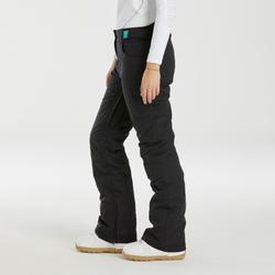 Pantalon de snowboard et de ski femme SNB PA 500 noir