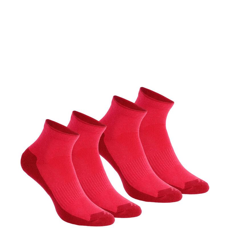 Çorap - Orta Boy Konç - 2 Çift - Pembe - NH100