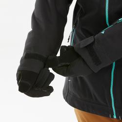 Veste de snowboard et de ski femme SNB JKT 500 Camo noir