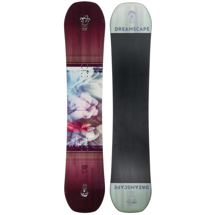 Planche de snowboard freestyle & all mountain, femme, Endzone 500