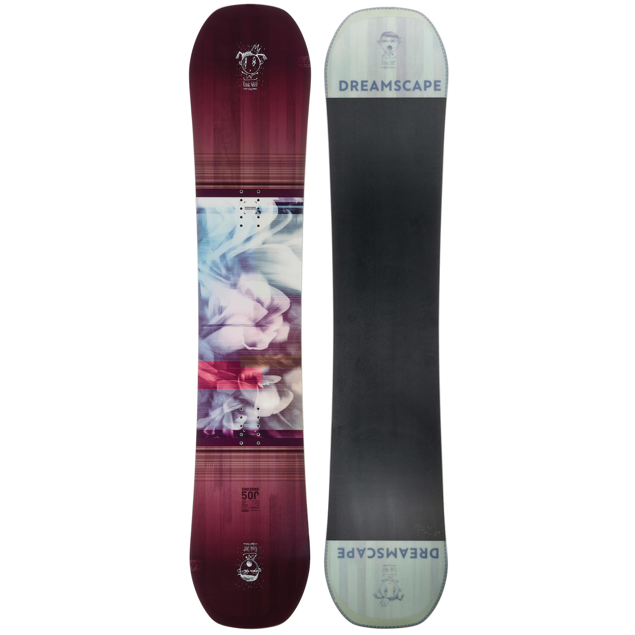Snowboard ENDZONE 500 Damă