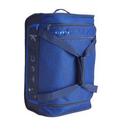 Sac à roulettes trolley - valise Essentiel 30 litres bleue marine
