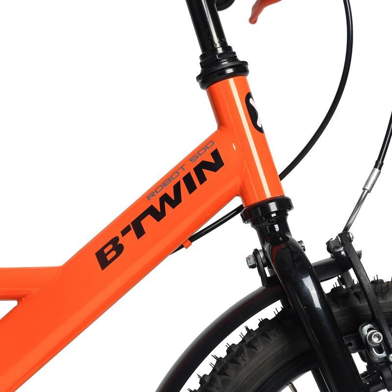 จักรยานรุ่น 500 ขนาด 16 นิ้วสำหรับเด็ก 4-6 ขวบ (ลาย Robot)