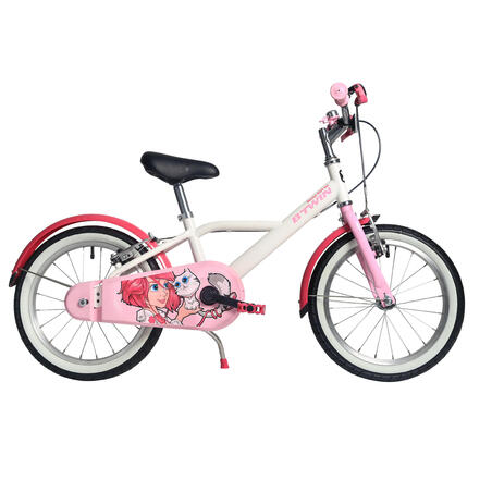 500 16-Inch Kids Bike (4-6 Years) - Docto Girl