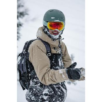 Wanten voor snowboarden en skiën SNB MI 900 zwart