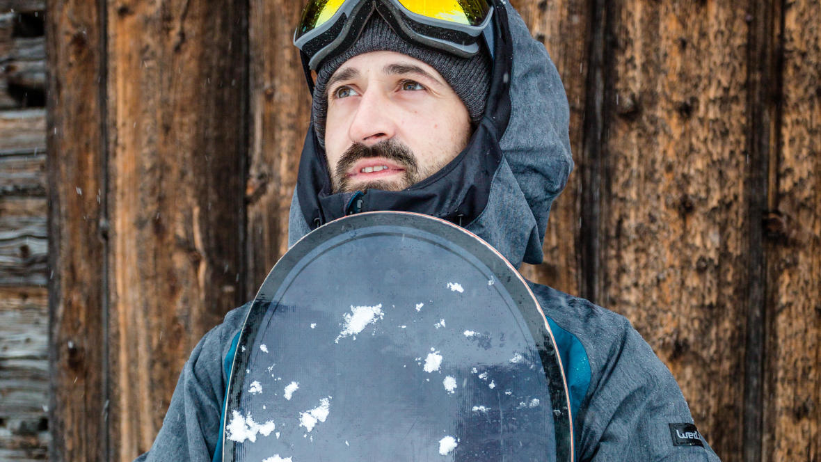 ranger son snowboard