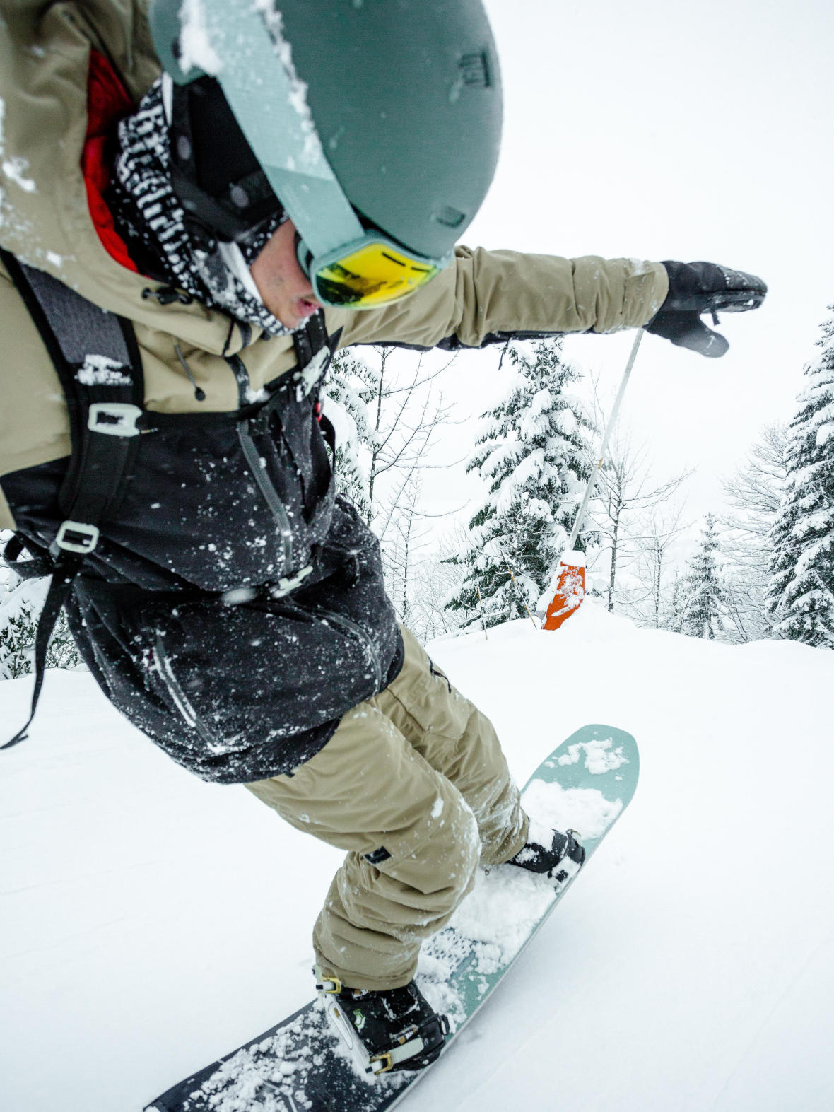 snowboard flex visuel