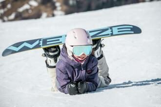 choose snowboard child teaser