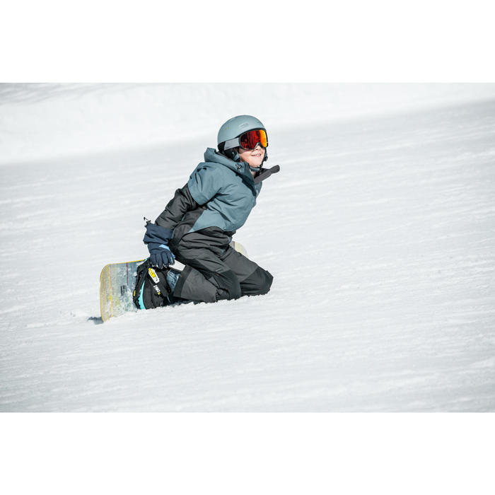 Chaussures de snowboard enfant à serrage rapide all mountain/freestyle, Indy 500
