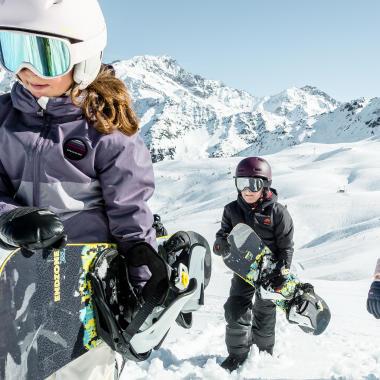 choisir snowboard enfant - titre