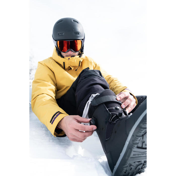 Snowboardboots voor heren snelsluiting piste/off-piste All Road 500