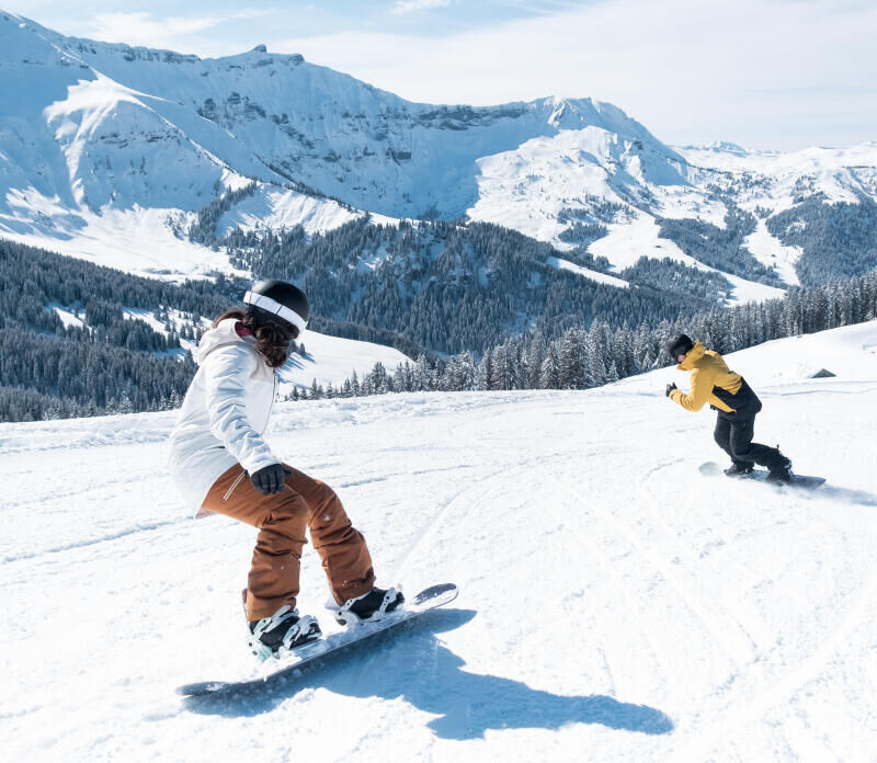 discover snowboarding