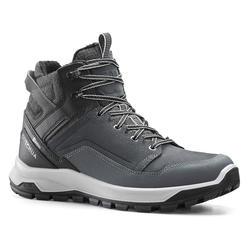 男款超保暖防水雪地健行中筒鞋SH500