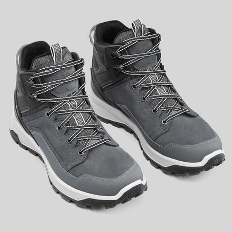 Ботинки теплые водонепроницаемые д/зимних походов мужские средние SH500 X-WARM.