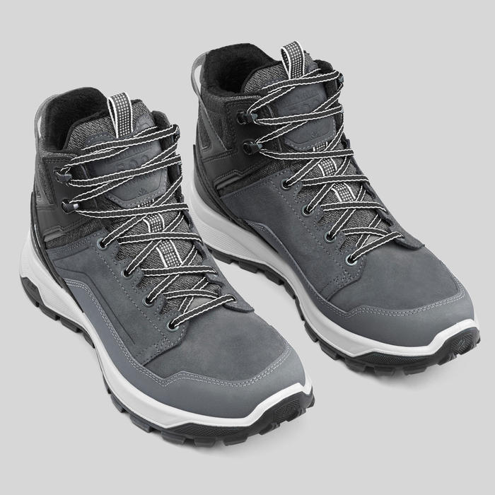 Men's Warm and Waterproof Snow Hiking Shoes - SH500 X-WARM Mid.