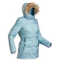 Куртка легкая теплая водонепроницаемая для походов женская SH500 Х–WARM