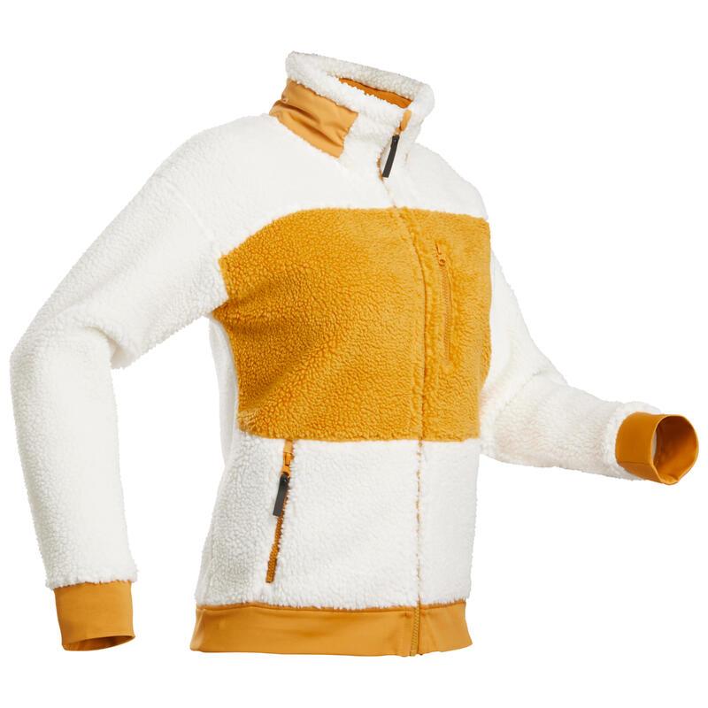 Warme fleece jas voor sneeuwwandelen Dames - SH500 U-WARM