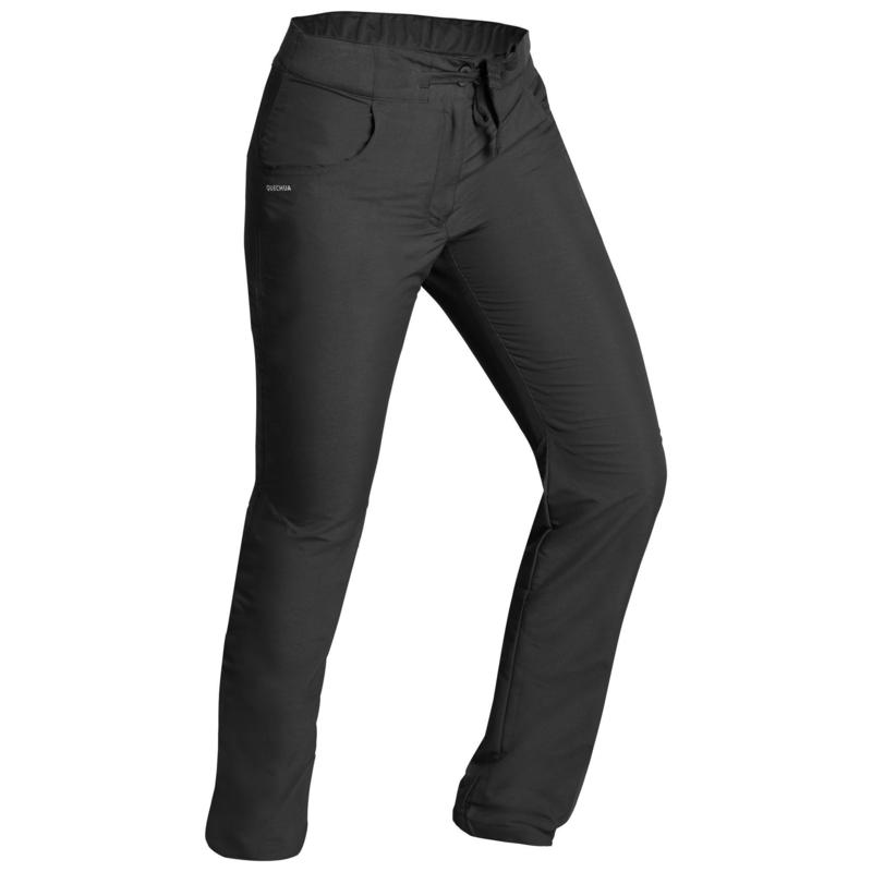 Women's Warm Water-repellent Hiking Trousers - SH100 ULTRA-WARM