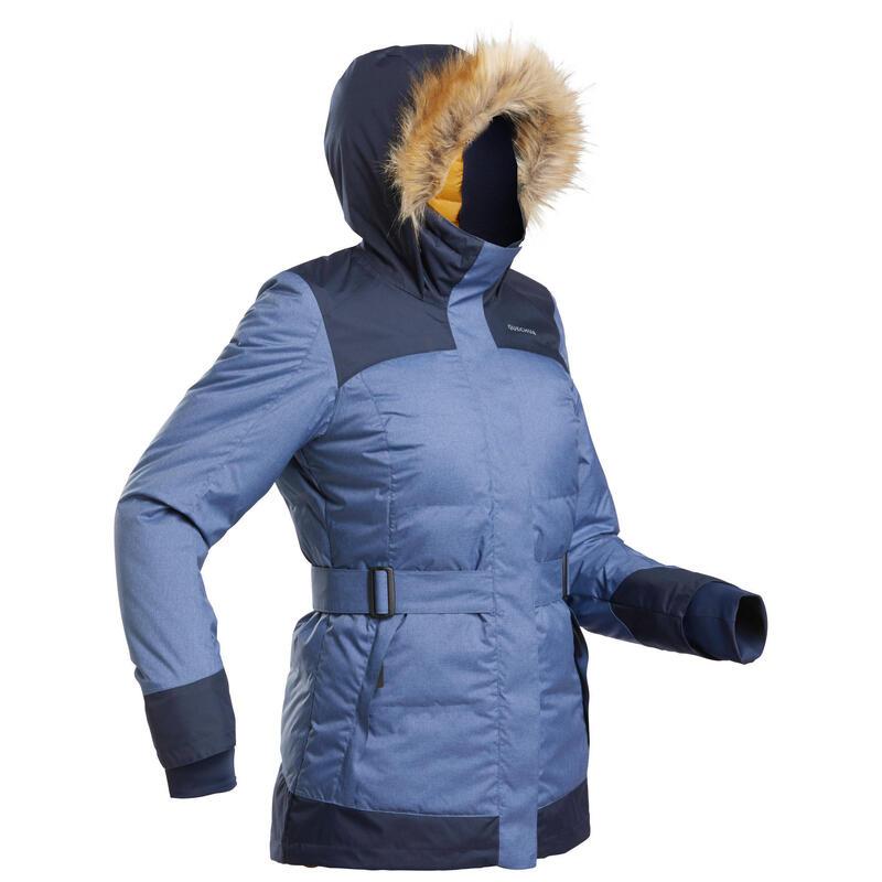 Women's Light Waterproof Winter Hiking Parka - SH500 X-WARM
