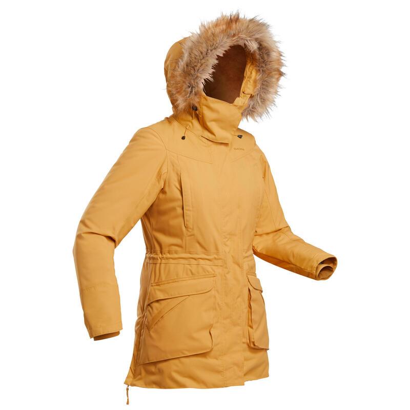 Parka hiver imperméable de randonnée- SH500 ULTRA-WARM - femme