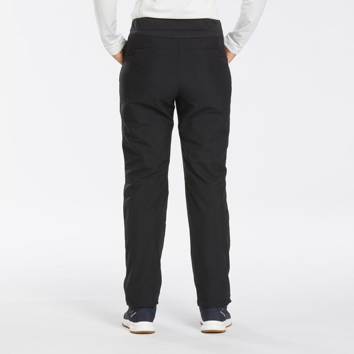 Pantalon chaud déperlant de randonnée neige - SH100 U-WARM - Femme