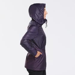 Veste chaude imperméable de randonnée - SH100 WARM - femme