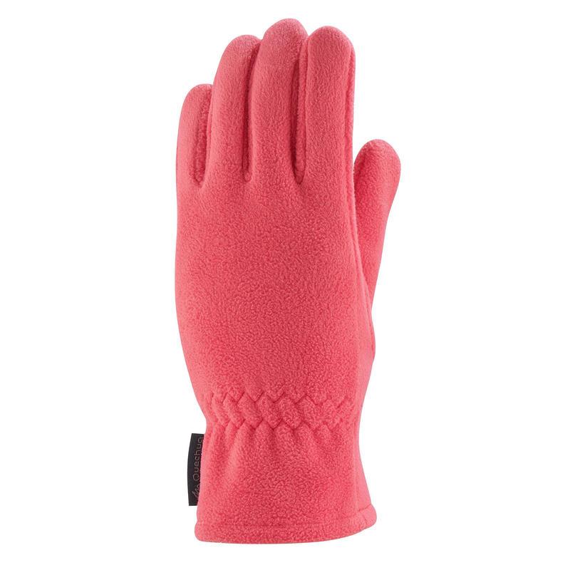 Fleece wandelhandschoenen kind SH500 roze