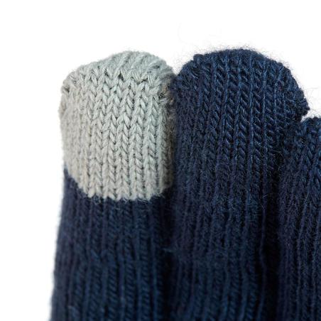 SH100 Hiking Mesh Touchscreen-Compatible Gloves - Kids