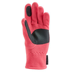 Fleece wandelhandschoenen kind SH500 roze