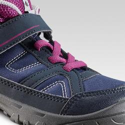 Chaussures de randonnée enfant montantes MH100 MID KID violette 24 AU 34