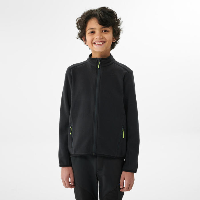 Junior MH150 hiking fleece black 7-15 years