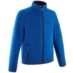 Veste polaire de randonnée - MH150 bleue marine - enfant 7-15 ans