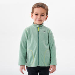 Fleece voor skiën en wandelen voor kinderen 2-6 jaar MH150 groen