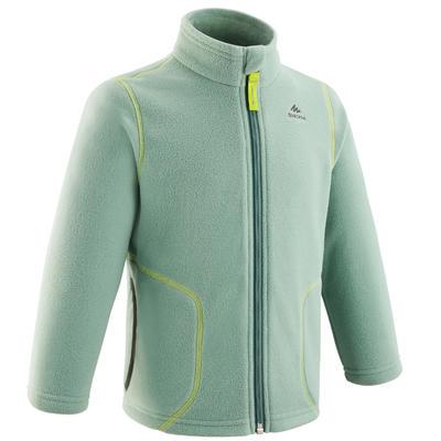 Kids' 2-6 Years Hiking and Skiing Fleece Jacket MH150 - Green