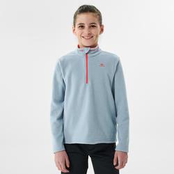 Wandelfleece voor kinderen MH100 blauw/grijs 7-15 jaar