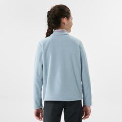 Polaire de randonnée - MH100 bleu gris - enfant 7-15 ans